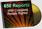 650 Reports with Resale Rights